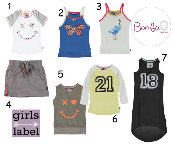 Bomba for girls., bomba zomer 2015