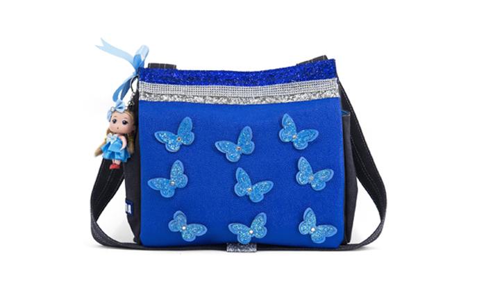 leuke meisjestassen, kinderrugtassen met dieren, dierentassen voor kinderen, zebra vlindertas