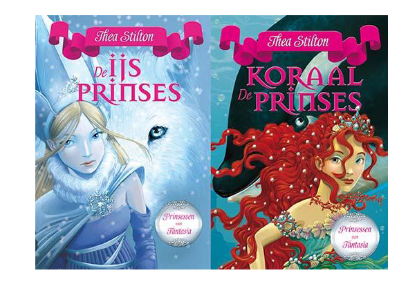 De Prinsessen van Fantasia, kinderboek, De Ijsprinses, de Koraalprinses, leuke meisjesboeken, thea stilton