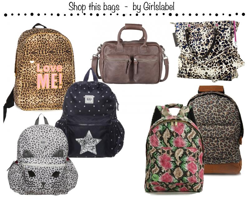 Schoudertas Uiltjes : Hippe tassen voor meisjes l de leukste meisjestassen