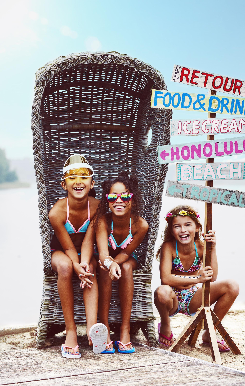 badkleding voor meisjes, badpakken en bikini's, hippe badkleding voor meisjes