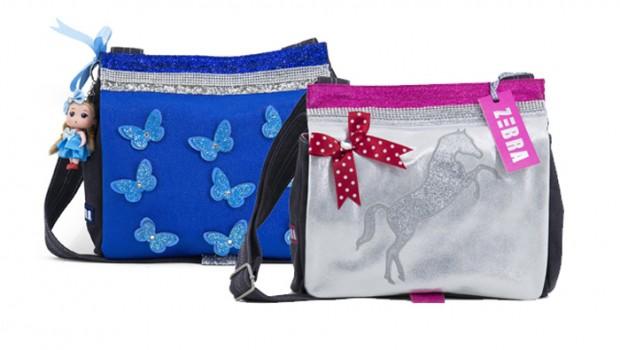 nieuwe schooltas, zebra trends tassen, leuke meisjestassen