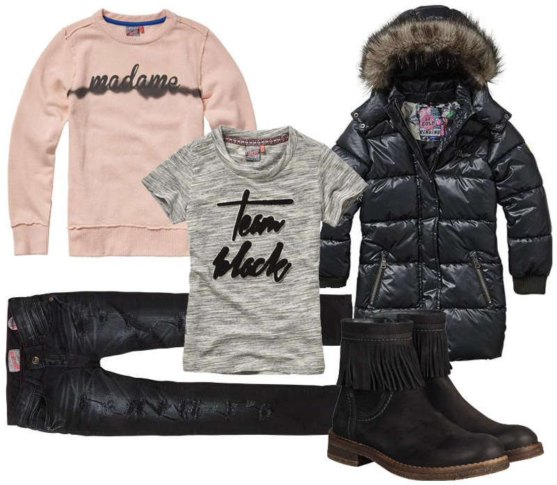 vingino winter 2017 , nieuwe collectie vingino, meisjeskleding winter 2016-2017, stoere meisjeskleding, tienerkleding