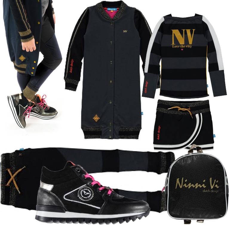 zwart-wit-meisjeskleding-ninnivi-shopthelook