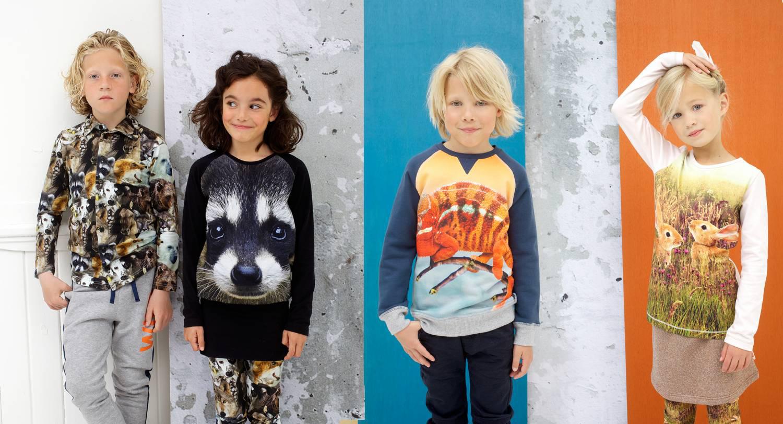 WILD kinderkleding, kinderkleding met dierenprints, wild winter 2015-2016