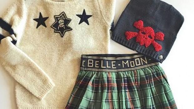 Scotch R Belle winter, Scotch meisjeskleding, punkrock
