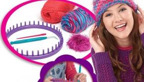 cra-z-knitz-muts, eenvoudig breien, leren breien, breien voor kinderen