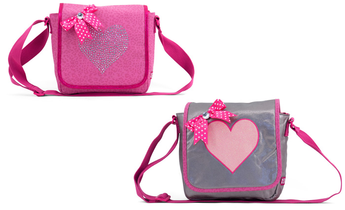 Zebra Trends Shiny Pink, meisjestassen, zebra tassen, leuke tassen voor meisjes