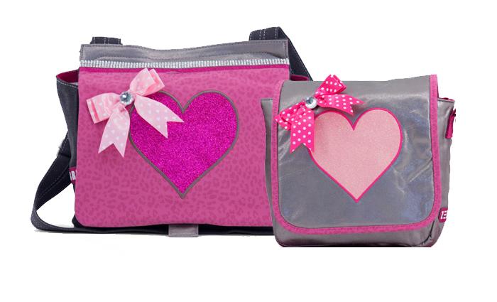 Tassen Trends 2015 : Zebra trends shiny pink collectie meisjestassen