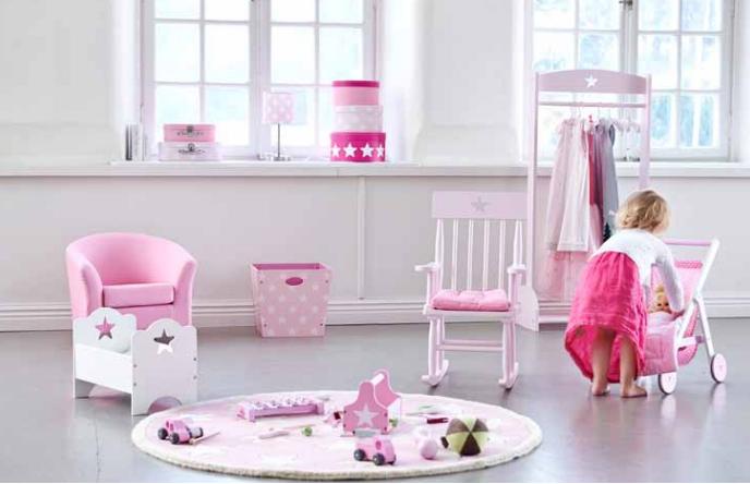 Kids concept, de gele flamingo, speelgoed