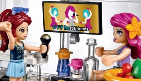 LEGO friends, LEGO friends speelgoed, popster bus