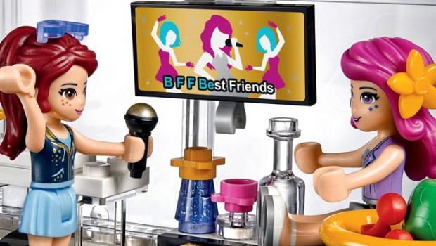 LEGO friends, LEGO friends speelgoed, popster bus