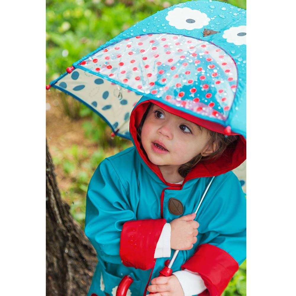 paraplu, regenjas, uiltje, girlslabel