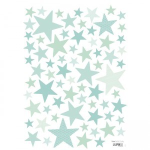 lilipinso-muurstickers-sterren-superstar-mint
