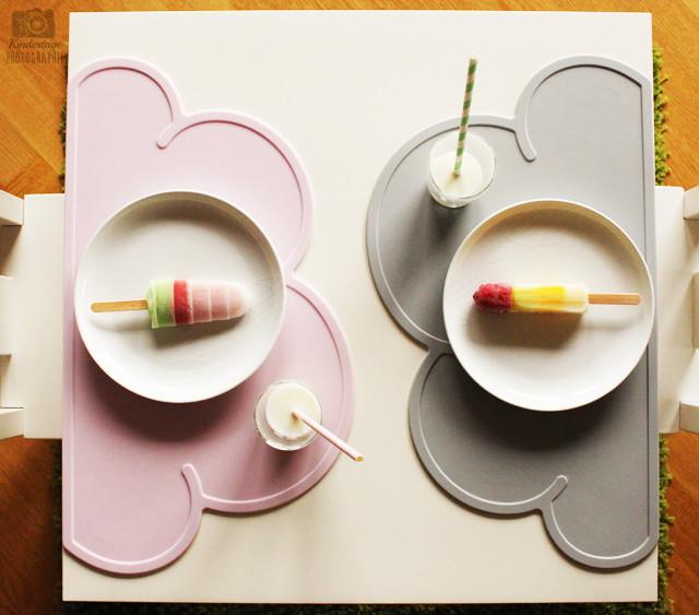 placemat, kinderen, wokje
