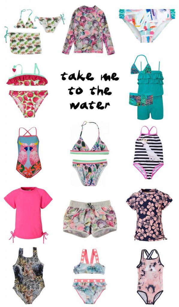 badkleding voor meisjes, zwemkleding, badmode zomer 2017