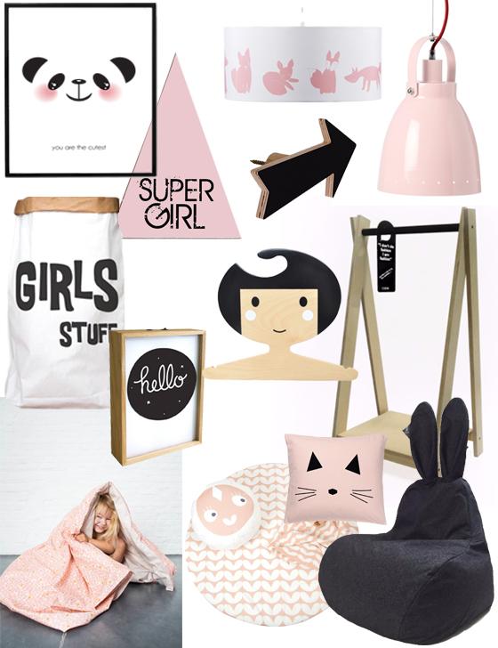 hippe accessoires meisjeskamer, kinderkamer accessoires, girlsroom, girlslabel