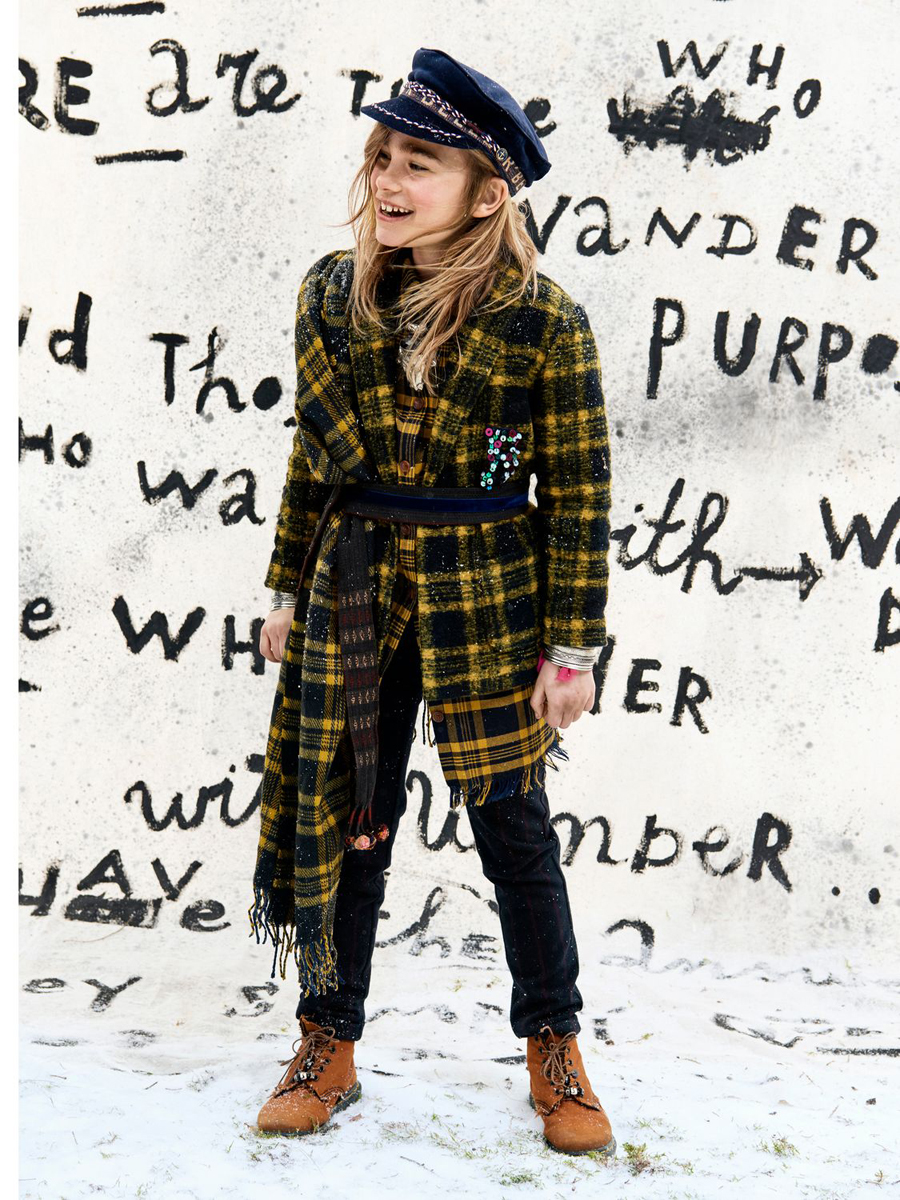 winterjassen voor meisjes, scotch rbelle winterjas