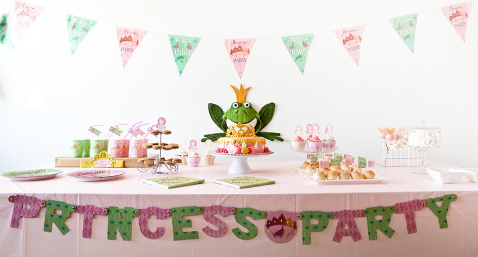 prinses-feestartikelen kinderfeestje