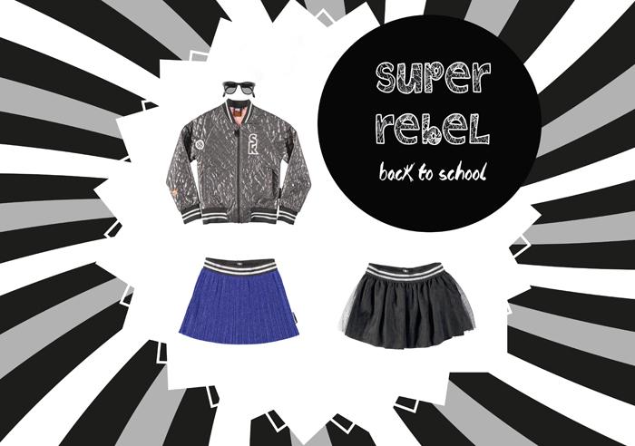 Superrebel, Super rebel, stoere meisjeskleding