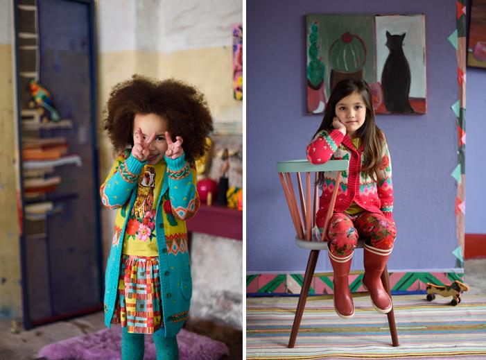 room seven kleding, room seven kinderkleding, kleurrijke meisjeskleding