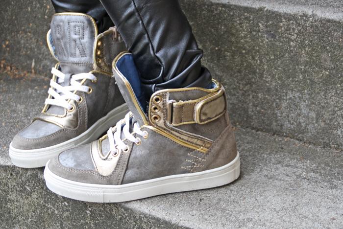 stoere meisjessneakers, kindersneakers, redrag sneakers