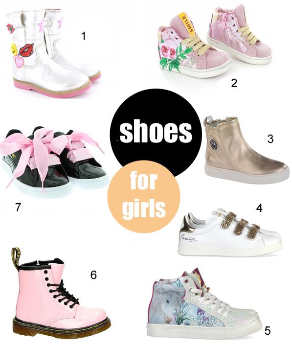 Hippe-kinderschoenen-meisjesschoenen, 2017