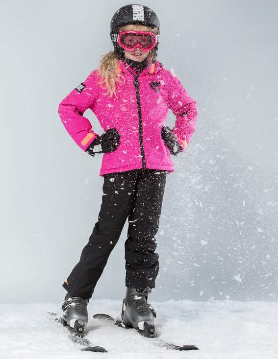superrebel snow collectie, wintersport kinderkleding skikleding