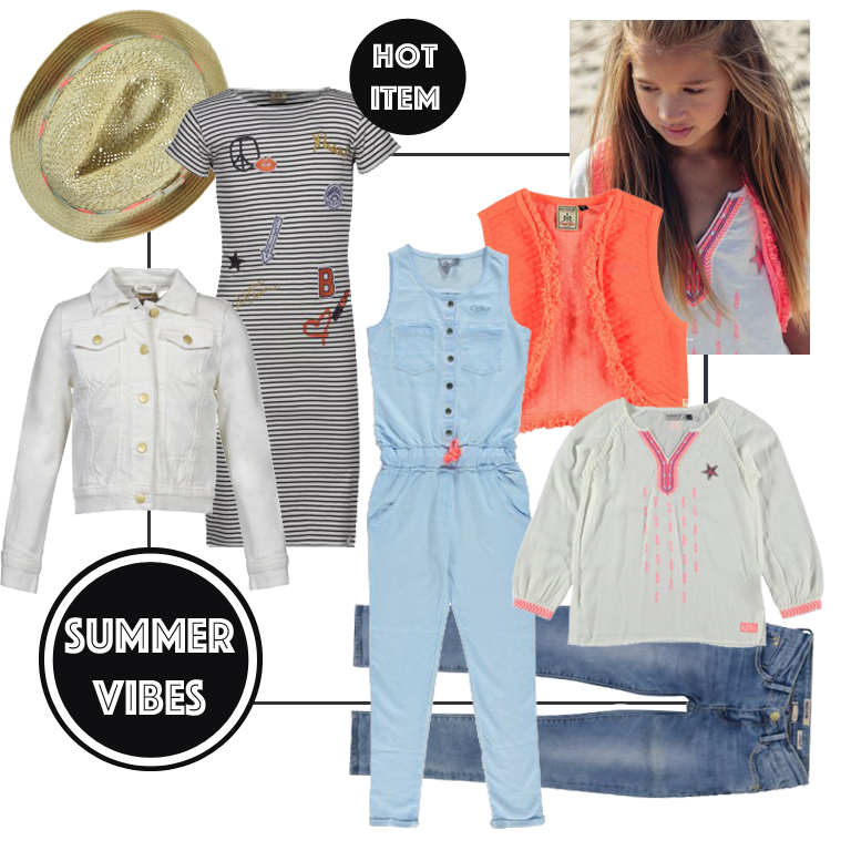 trendy meisjeskleding, get the look, summerlook, zomerkleding