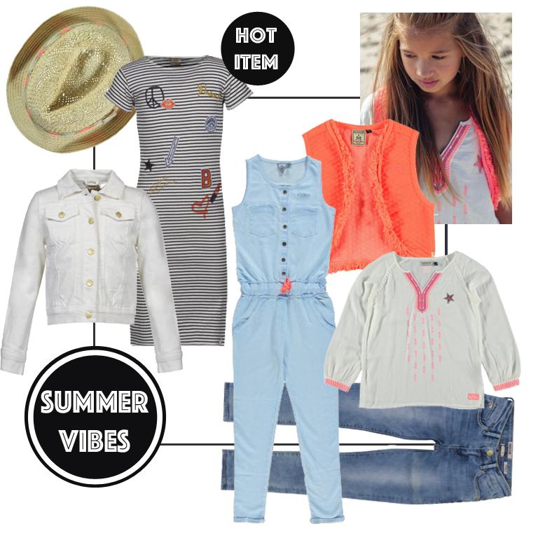 trendy meisjeskleding, get the look, summerlook, zomerkleding