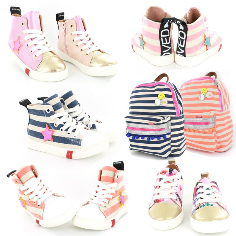 canvas sneakers, meisjes sneakers, shoesme