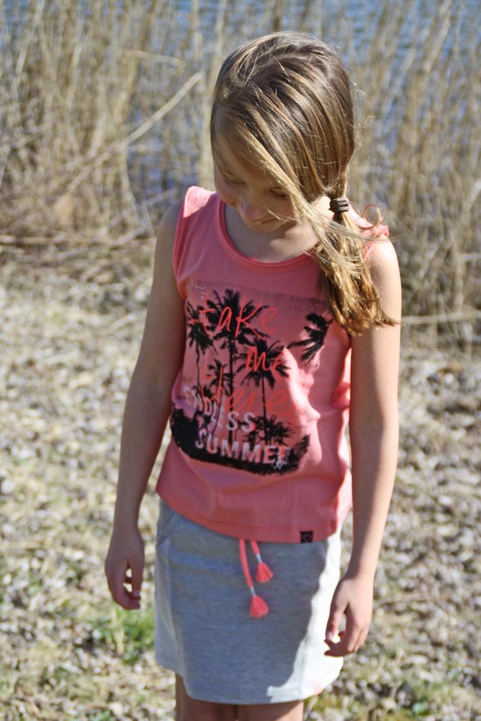 Mooi weer kleding, meisjes zomerkleding