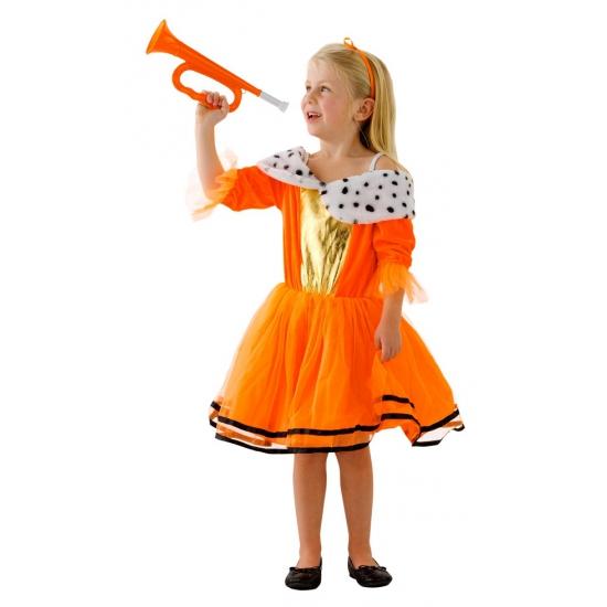 verkleedjurk oranje, hollandse jurk, koningsdag jurk, koningsdag jurk kind, koningsdag meisje, fun en feest jurk