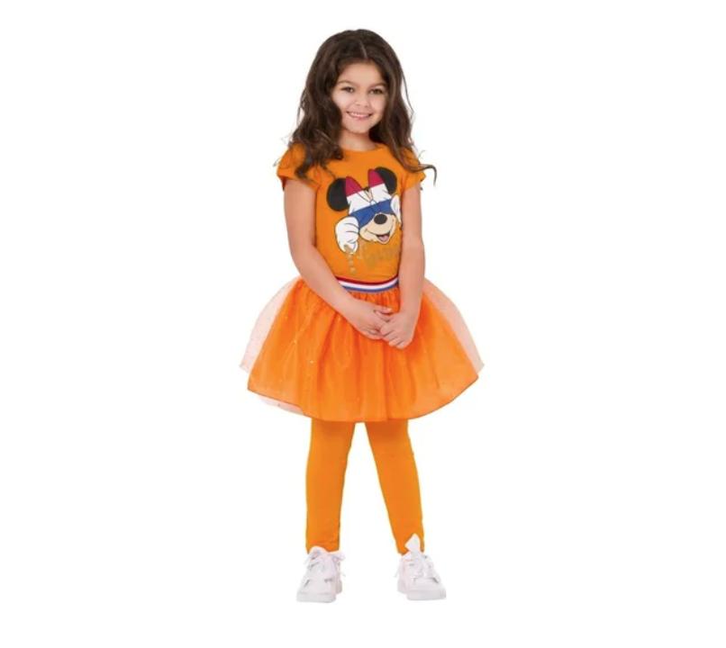 oranje tutu kruidvat, oranje verkleedkostuum, koningsdag meisje