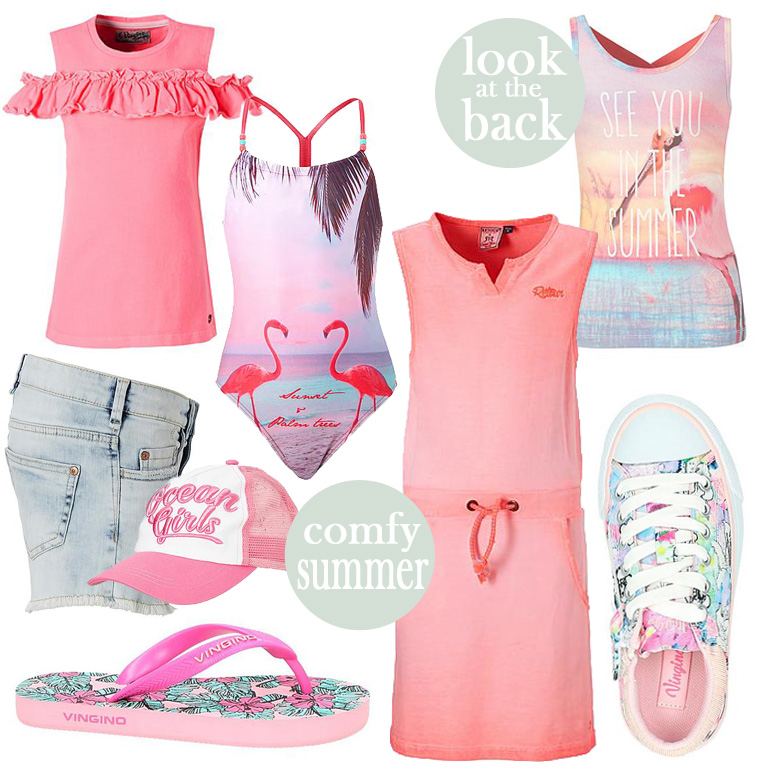 zomer mode meisjes, zomerkleding meisjes