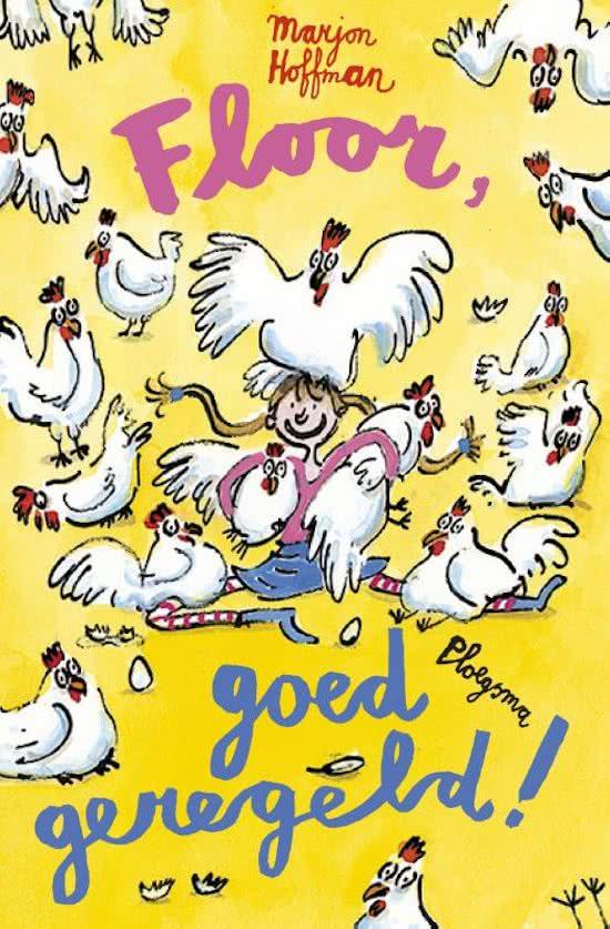 Floor goed geregeld, helemaal floor, kinderboek, meisjesboek