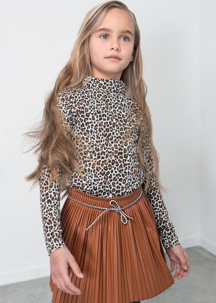 LikeFlo, dress like flo, like flo meisjeskleding, hippe meidenkleding, panterprint