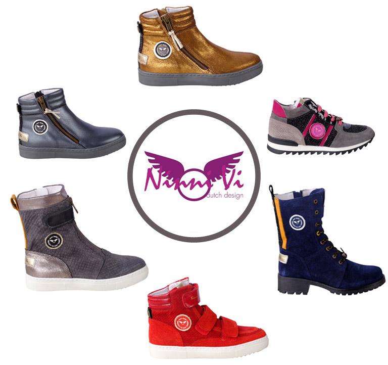 NinniVi schoenen collectie, ninnivi schoenen winter 2018, hippe meisjesschoenen