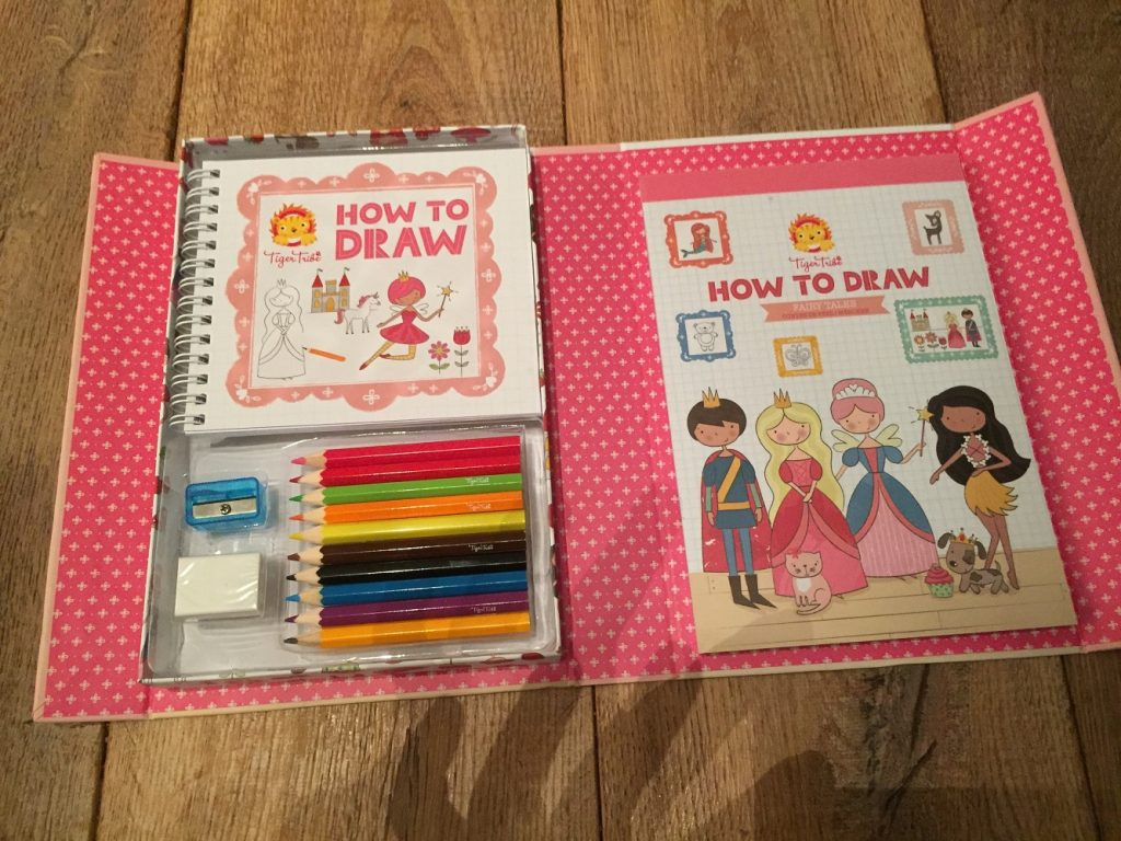 leren tekenen,  how to draw, tiger tribe, meisjesspeelgoed