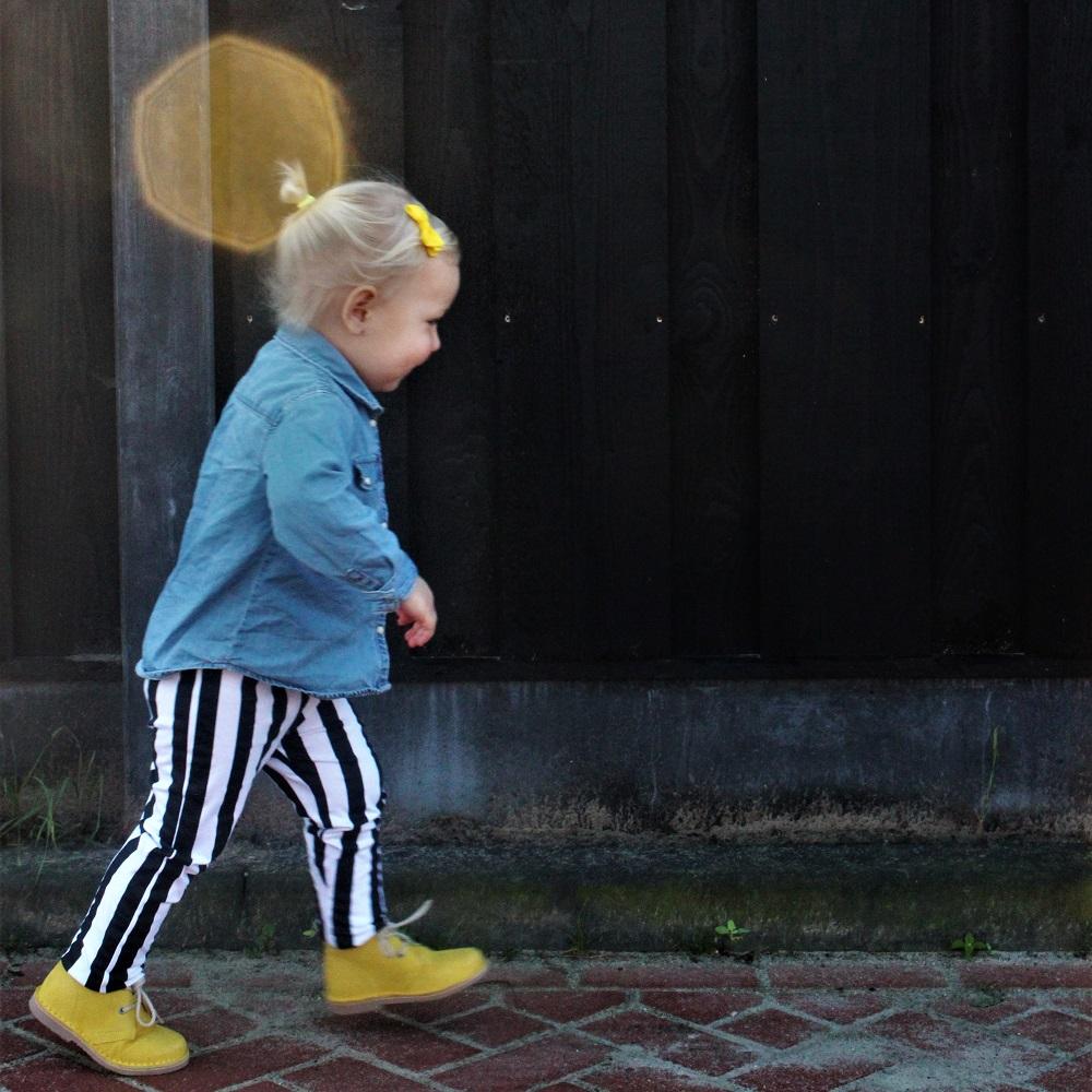 koel 4 kids, meisjesschoenen, gele kinderschoenen
