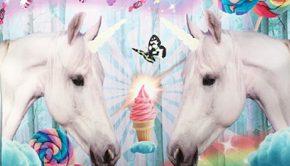 paardentassen-unicorntassen, meisjestassen