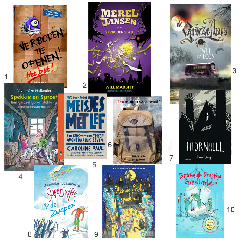 spannende Kinderboeken, meisjesboeken, kinderboekenweek