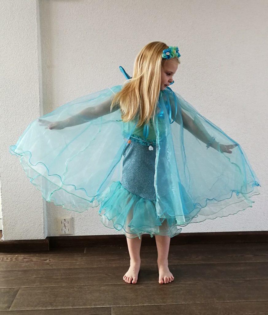 meisjes verkleedkleding, zeemeermin kostuum