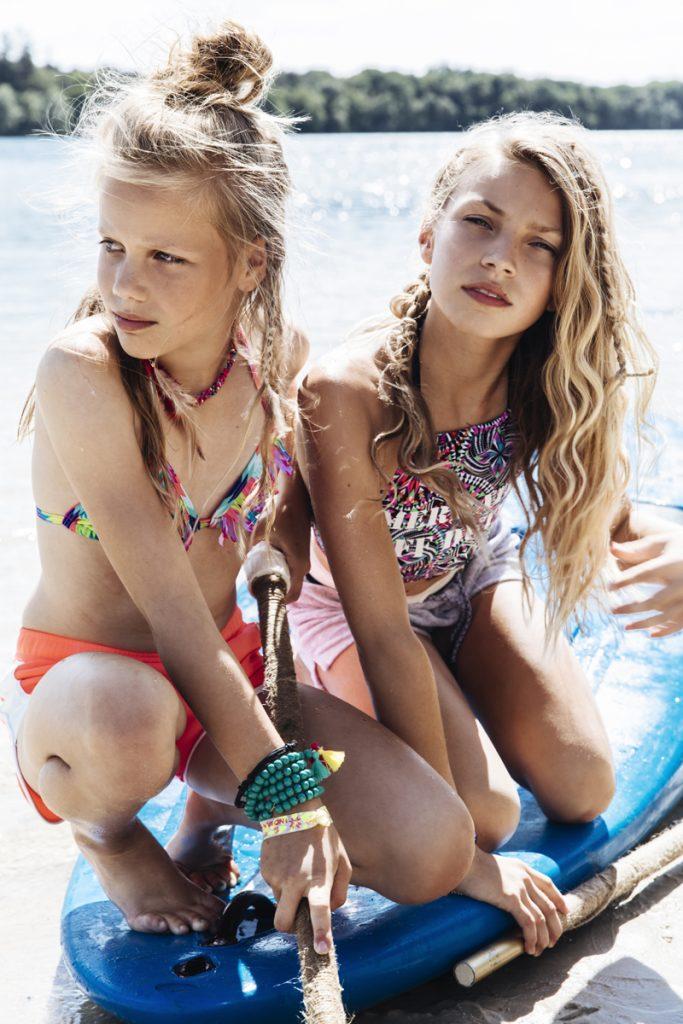 Indian BLue Jeans, zomerkleding meisjes, badkpak en bikini