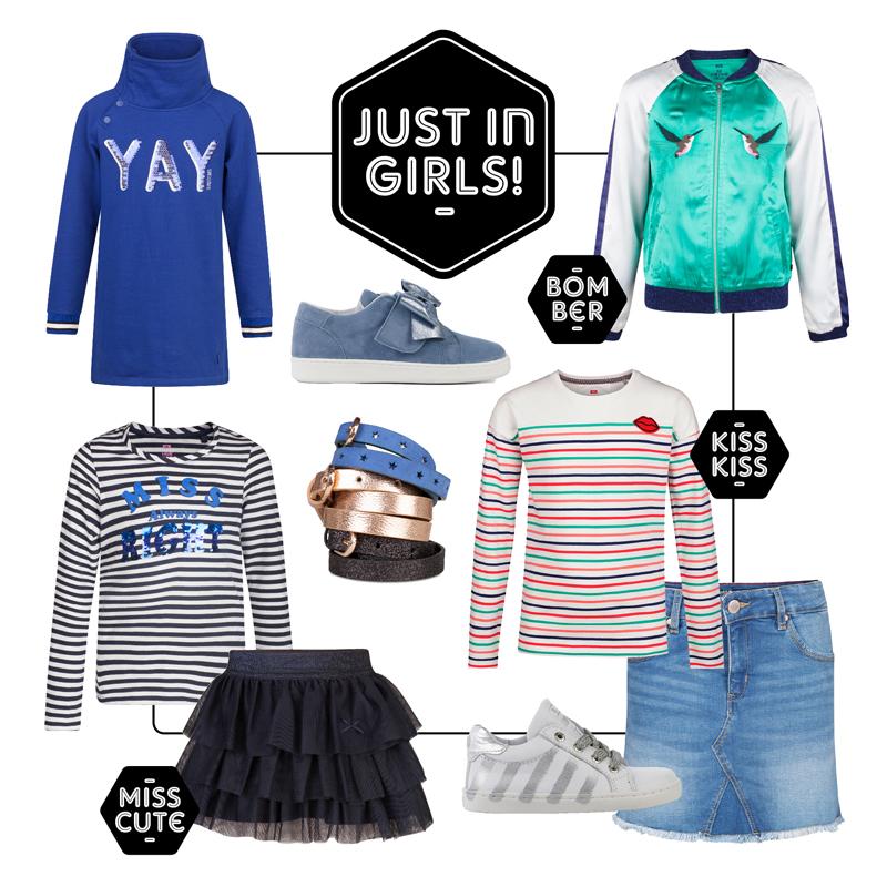WE Fashion kids, zomer 2018, meisjeskleding