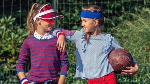 athleisure wear, sportieve meisjeskleding