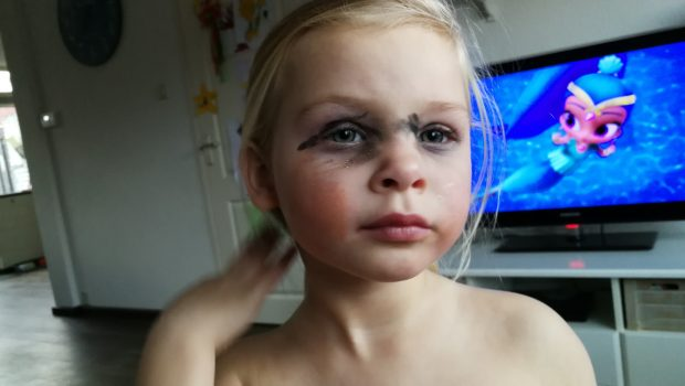 make up meisje