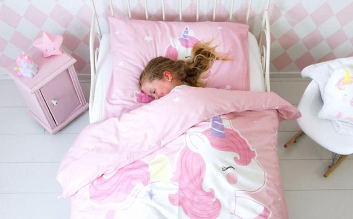 Unicorn slaapkamer voor meisjes meisjes slaapkamer girlslabel