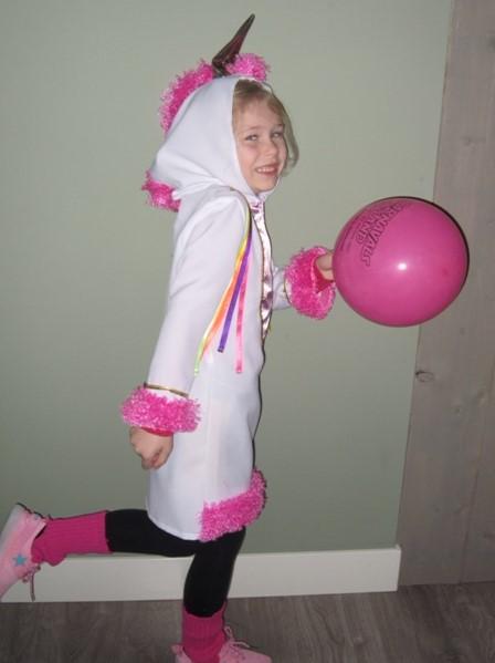unicorn jurkje, verkleedkleding meisjes