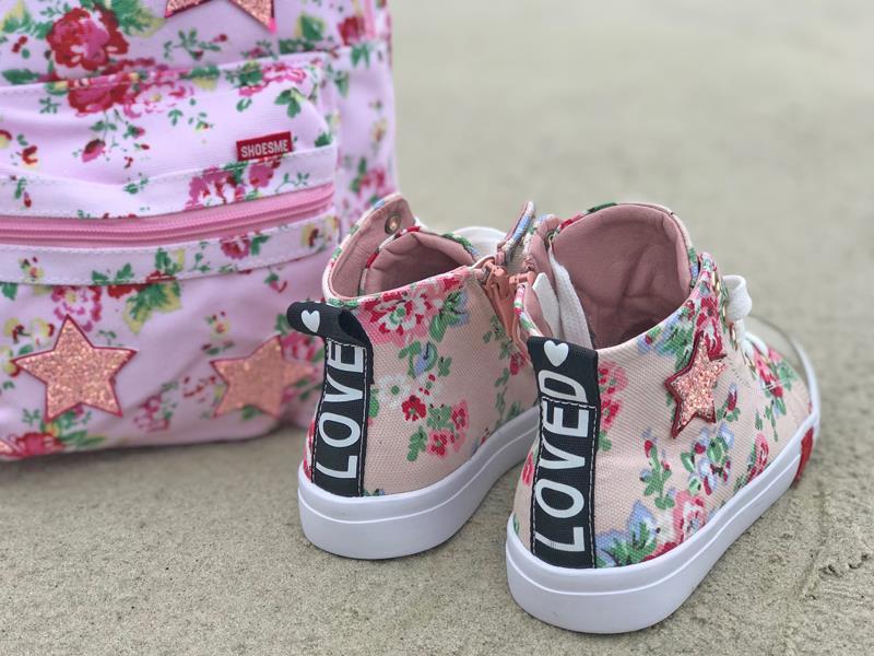 shoesme, meisjes sneakers , zomer sneakers